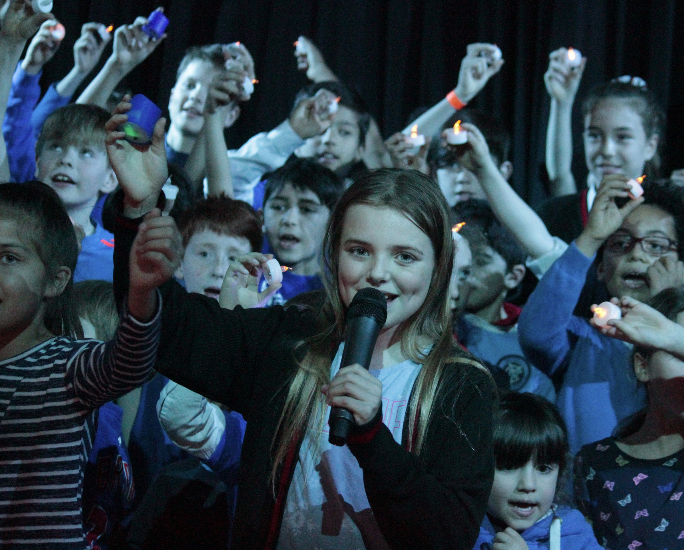 "Howe were the winners of this year's House Song Competition, with their version of ""Stand By Me"""